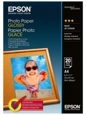 EPSON paper A4 - 200g/m2 - 20sheets -Photo Paper Glossy , C13S042538