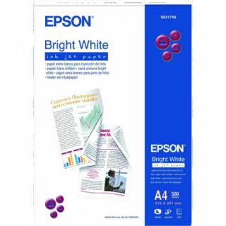 EPSON paper A4 - 90g/m2 - 500sheets - bright white ink jet, C13S041749