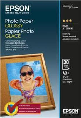 EPSON Photo Paper Glossy A3  20 listů, C13S042535