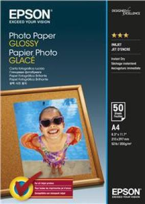 EPSON Photo Paper Glossy A4 50 listů, C13S042539