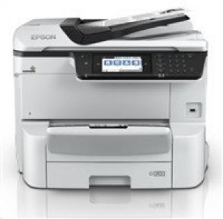 EPSON tiskárna ink WorkForce Pro WF-C8690DWF, 4in1, A3, 1200x4800, 35ppm draft,USB 3.0, LAN, NFC, WIFI, Ethernet, DUPLEX, C11CG68401
