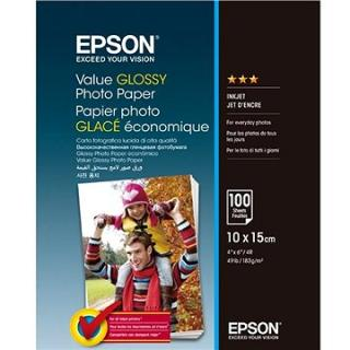 EPSON Value Glossy Photo Paper 10x15cm 100 listů (C13S400039)