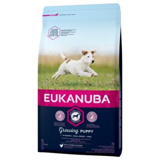 Eukanuba Growing Puppy Small Breed Kuřecí - 3 kg