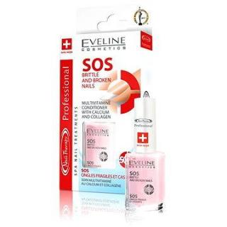 EVELINE Cosmetics Spa Nail SOS brittle and broken nails 12 ml (5907609329714)
