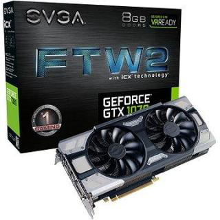 EVGA GeForce GTX 1070 FTW2 GAMING iCX (08G-P4-6676-KR)
