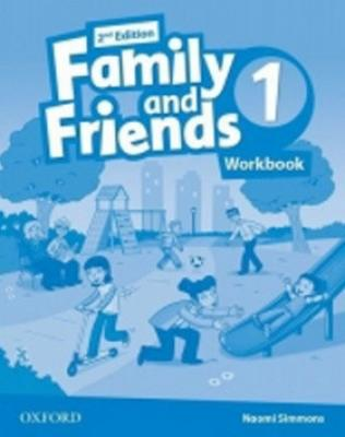 Family and Friends (2nd Edition) 1 Workbook