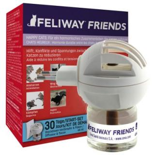 Feliway Friends difuzér a flakon - Náplň 48 ml
