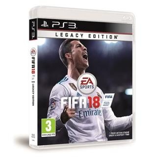 FIFA 18 Legacy Edition - PS3 (1049091)
