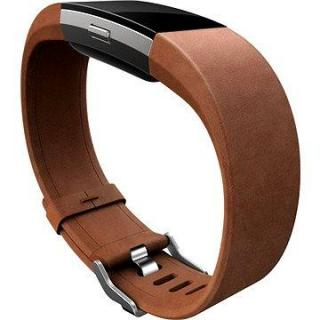 Fitbit Charge 2 Band Leather Brown Large (FB160LBBRL)