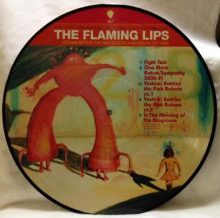 Flaming Lips : Yoshimi Battles The Pink Robot LP