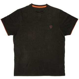 FOX Brushed Cotton T-Shirt Black/Orange (JVR075096NAD)