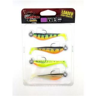FOX Rage Zander Pro Shad Loaded 7cm 5g Velikost 1/0  Mixed Colours 4ks (5055350303481)