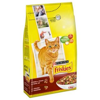 Friskies Beef, Chicken And Vegetables - 1,5 kg