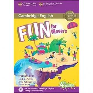 Fun for Movers Student´s Book: Fourth edition (9781316631959)