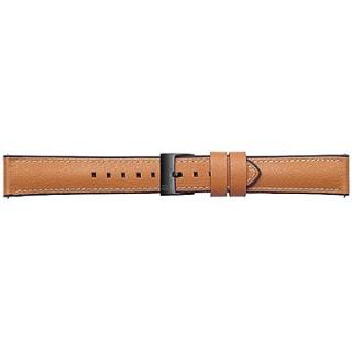 Galaxy Watch Braloba strap Rubber/Leather 20mm - Urban Traveller Tan