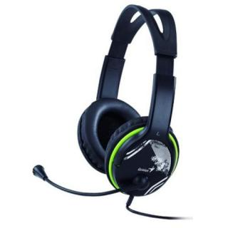 Genius headset - HS-400A, 113 dB, 40 mm reproduktory pro hluboké basy, 31710169100