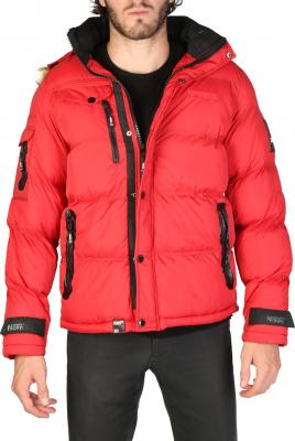 Geographical Norway Bonap_man red velikost: L