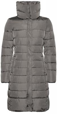 GEOX Dámská bunda Airell Long Coat Cloudy Grey W8428G-T2512-F1479 40