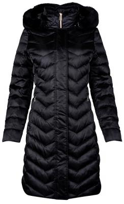 GEOX Dámská bunda Chloo Long Jkt Black W8425H-T2411-F9000 34