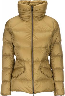 GEOX Dámská bunda Woman Down Jacket Mustard Gold W7425L-T2412-F2086 34