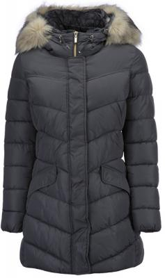 GEOX Dámská bunda Woman Jacket Dark Rock W7428D-T2410-F1414 34