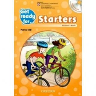Get Ready for Starters: Student´s Book with Audio CD (9780194003261)