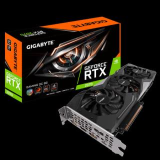 Gigabyte GeForce RTX 2070  OC 8G, RGB, 8GB GDDR6, GV-N2070GAMING OC-8GC