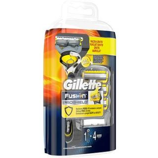 GILLETTE Fusion Proshield strojek   hlavice 4 ks
