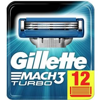 GILLETTE Mach3 Turbo 12 ks