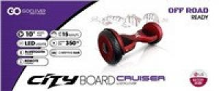 GOCLEVER City Board CRUISER  RED s LG baterií, 10
