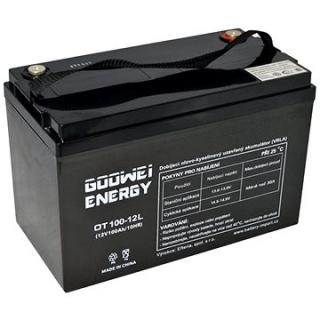 GOOWEI ENERGY OTL100-12, baterie 12V, 100Ah, DEEP CYCLE (OTL100-12)