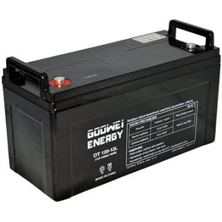 GOOWEI ENERGY OTL120-12, baterie 12V, 120Ah, DEEP CYCLE (OTL120-12)