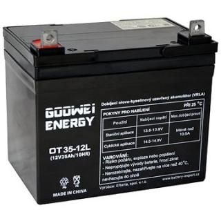 GOOWEI ENERGY OTL35-12, baterie 12V, 35Ah, DEEP CYCLE (OTL35-12)