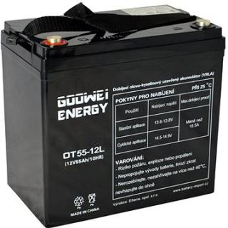 GOOWEI ENERGY OTL55-12, baterie 12V, 55Ah, DEEP CYCLE (OTL55-12)