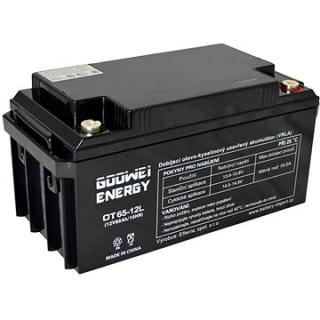 GOOWEI ENERGY OTL65-12, baterie 12V, 65Ah, DEEP CYCLE (OTL65-12)