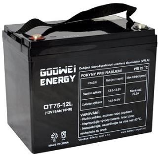 GOOWEI ENERGY OTL75-12, baterie 12V, 75Ah, DEEP CYCLE (OTL75-12)