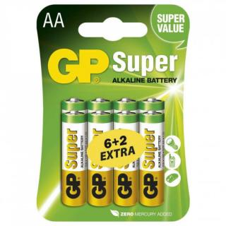 GP AA Super alkalická - 8 ks