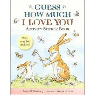 Guess How Much I Love You: Activity Sticker Book: Activity Sticker Book (1406370673)