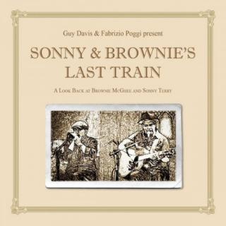 Guy Davis & Fabrizio Poggi : Sonny & Brownies Last Train LP