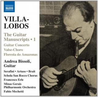 H. Villa-lobos : Guitar Manuscripts 1 CD