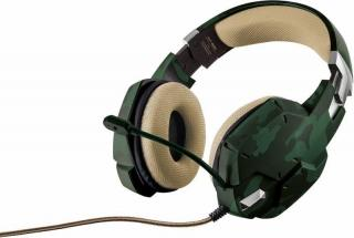 Headset Trust GXT 322C Green Camouflage