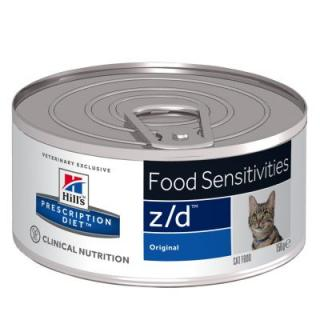 Hill´s Prescription Diet Feline Z/D Food Sensitivities - 12 x 156 g