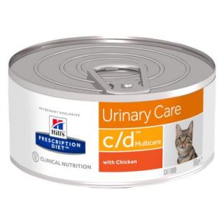 Hills Prescription Diet Feline - C/D kuřecí - 6 x 156 g