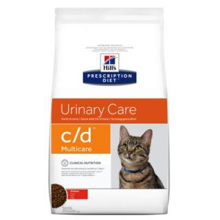 Hills Prescription Diet Feline C/D Urinary Care Multicare - Výhodné balení 2 x 10 kg