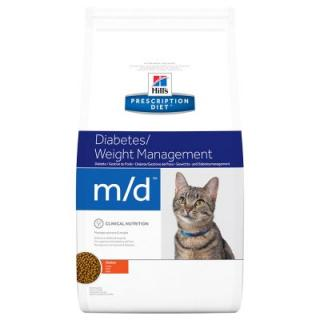 Hills Prescription Diet Feline M/D Weight Loss - Diabetic - výhodné balení 2 x 5 kg