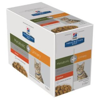 Hills Prescription Diet Feline Metabolic   Urinary - 12 x 85 g