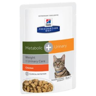 Hills Prescription Diet Feline Metabolic   Urinary - 24 x 85 g