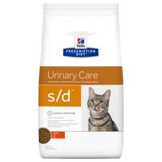 Hills Prescription Diet Feline S/D Urinary Dissolution - Výhodné balení 2 x 5 kg