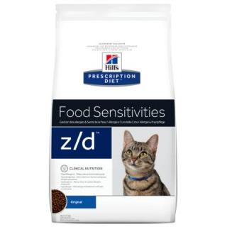 Hills Prescription Diet Feline Z/D Food Sensitivities - Výhodné balení: 2 x 2 kg