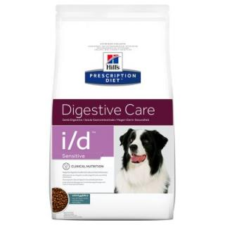 Hills Prescription Diet i/d Sensitive Digestive Care s vejci a rýží - Výhodné balení 2 x 12 kg